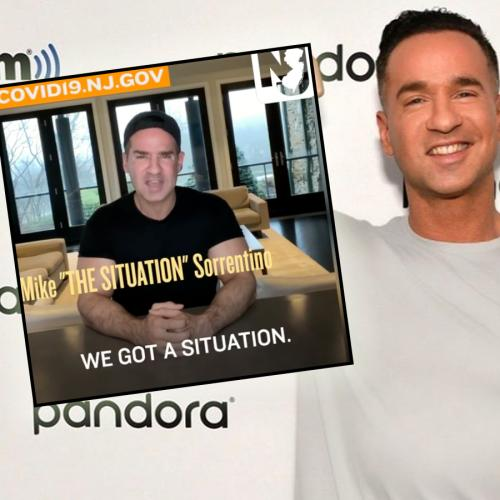 Jersey Shore's Mike 'The Situation' Is Doing His Bit To Combat The Coronavirus...Situation.