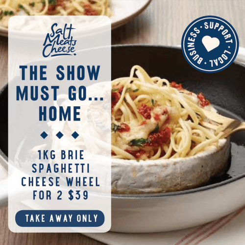 GOD HELP US ALL -You Can Order A Kilo Brie Cheese Wheel Pasta To Your Home!!