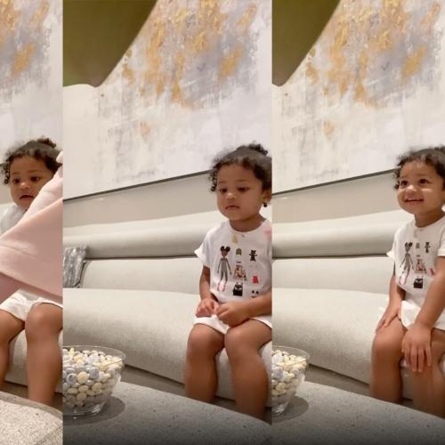 Stormi Webster, Kylie Jenner's Daughter, Proves She's The Goodest Girl In The World