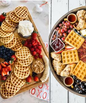 Guests Coming Over? How About A Waffle Charcuterie Board?
