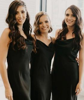 Bride Dresses Bridesmaids In $25 Kmart Dresses That Look Almost Identical To Designer Brand