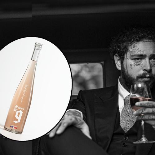 Uhh..To Make Your Year Weirder, Post Malone Has Just Released His Own Rosé…