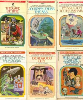 Your Fave Book Series As A Kid, 'Choose Your Own Adventure' Are Now Board Games