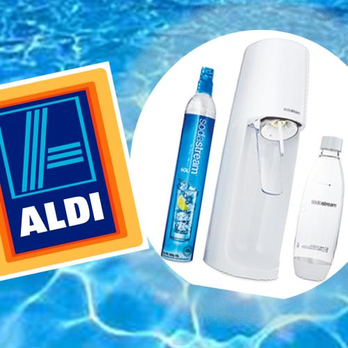 Aldi's Dropping SodaStreams For $70 So Get That Sparkling Water Fix You Bougie Bi----!