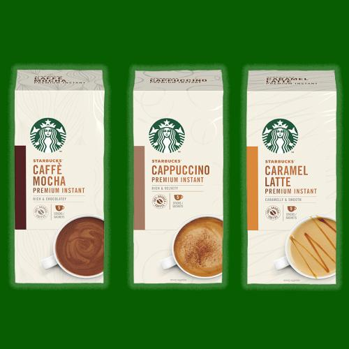 You Can Now Make Starbucks Caramel Lattes & Mochas From Home!
