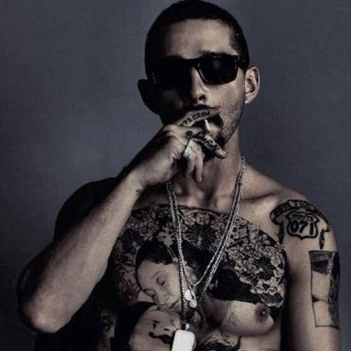 Shia LaBeouf Got A Massive, Real Chest Tattoo For His Latest Movie Role