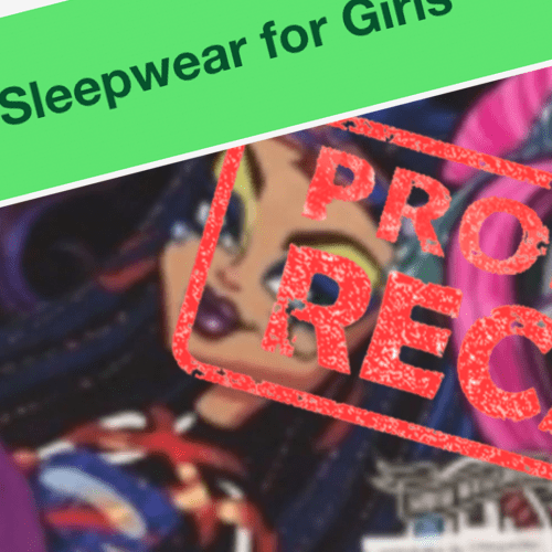 Urgent Recall Issued Over Kids Pyjamas That Could 'Catch Fire Quickly'