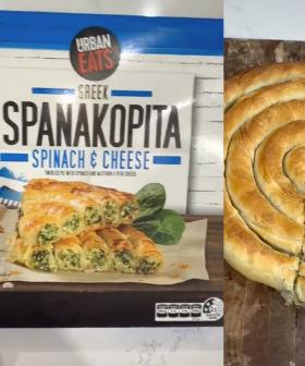 Everyone's Raving About Aldi's Greek Spanakopita!