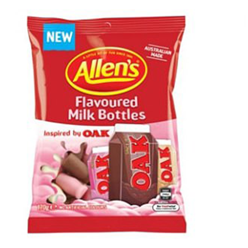 Oak Flavoured Allen's Milk Bottles Are About To Hit Shelves For An Ultimate Nostalgia Hit