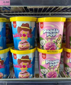 You Will Soon Be Able To Buy Bubble O'Bill & Rainbow Paddle Pops in TUBS From IGA!!