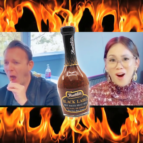 Mike E & Emma Try One Of The World's Hottest Hot Sauces!