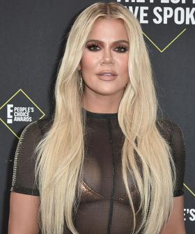So Don't Freak Out But Khloe Kardashian Is Wearing A Huge Diamond Ring On THAT Finger