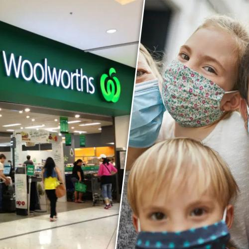 """Woolworths """"Strongly Encourage"""" Shoppers And Staff To Wear Face Masks In NSW"""