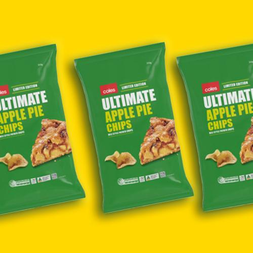 Ummmmm Coles Also Has Apple Pie Chips?