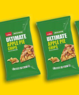 Ummmmm Coles Also Has Apple Pie Chips?