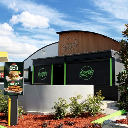 El Jannah Is Opening A Drive-Thru Charcoal Chicken Store!