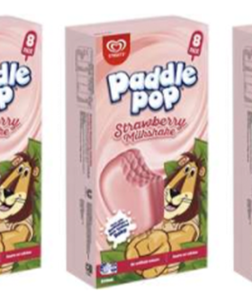 Strawberry Milkshake Paddle Pops Now Exist & It Actually Is An Ideal Winter Treat