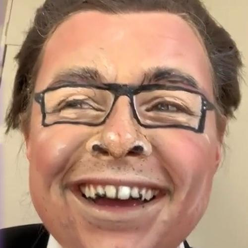 This TikTok Makeup Artist Turned Herself Into Dan Andrews And It's Absolutely Terrifying