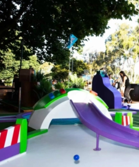 A Pixar-Themed Mini Golf Course Is Coming To Parramatta This Month