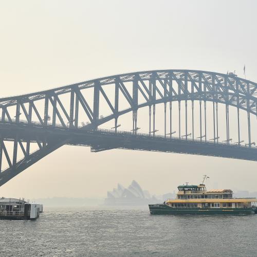 Smoke Alert Issued For Sydney