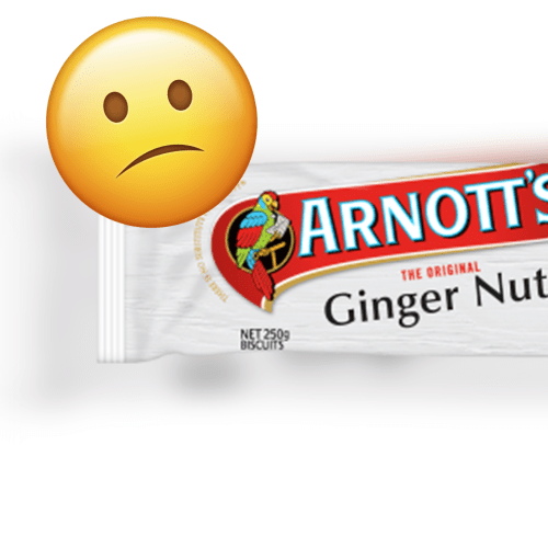 Arnotts Biscuits Have Revealed A Very, Very Weird Secret About The Innocent Ginger Nut Biscuit