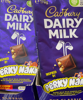 Cadbury Dairy Milk Have Released A Chocolate Block Filled With Banana Lollies
