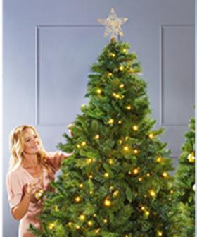 Aldi's Popular Pre-Lit $99 Christmas Tree Is Back In STORE!