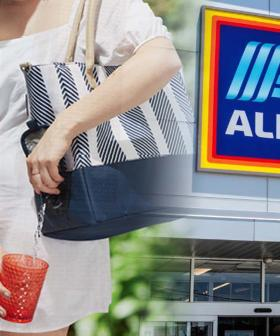 ALDI Has Brought Back The Picnic Tote Bag With A Built-In Wine Tap!
