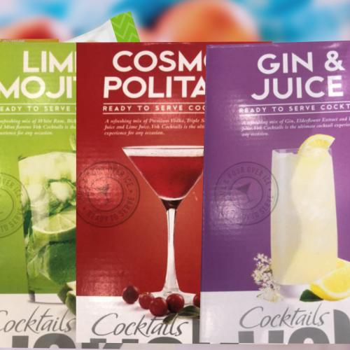 Aldi's Selling 2L Casks Of Ready-To-Serve Cocktails For NYE