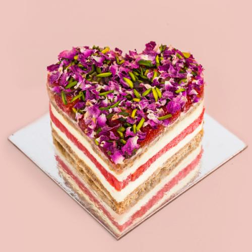 Black Star Pastry Is Doing Heart-Shaped Strawberry Watermelon Cakes For Valentines Day!