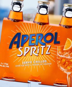 You Can Now Get Aperol Spritz In Ready-To-Drink Bottles, So Hello Summer Days!