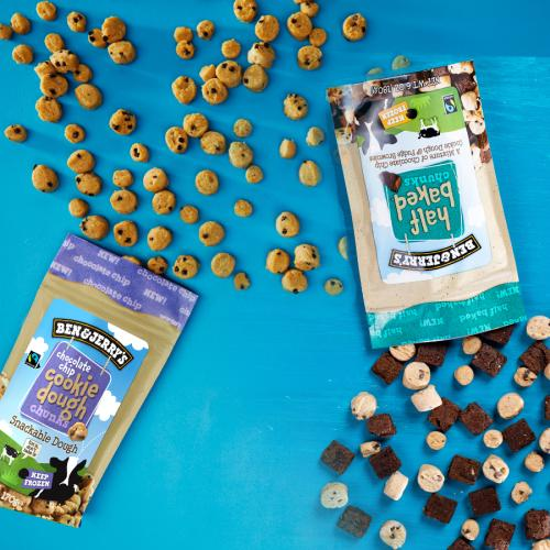 Ben & Jerry's Are Launching Snackable COOKIE DOUGH CHUNKS!!