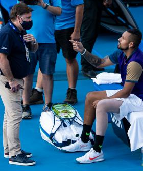 Nick Kyrgios Storms Off Court, Calls Umpire A 'Smart Arse' After Controversial Decision