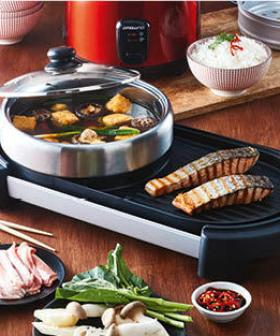 Aldi Got A $58 Hot Pot & Grill Contraption Which Will Change How You Do Dinner