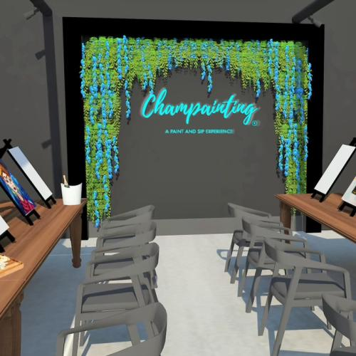 A New Boozy Paint & Sip Studio Is Opening On Oxford Street