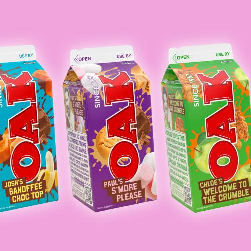 OAK's Revealed Their Three Flavour Finalists Which You Can Try & Vote For!