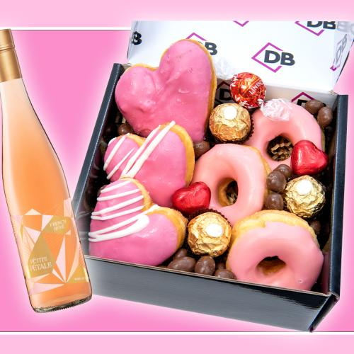 Dessert Boxes & Jimmy Brings Have Made Rosé Glazed Doughnuts For Mother's Day!