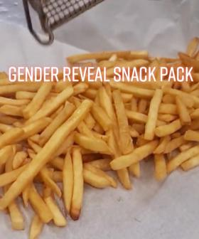 This Aussie Couple Just Used A Halal Snack Pack For Their Gender Reveal