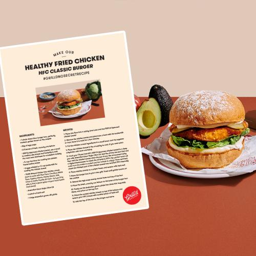 Grill'd Has Release The Recipe For One Of Their Brand New Fried Chicken Burgers!