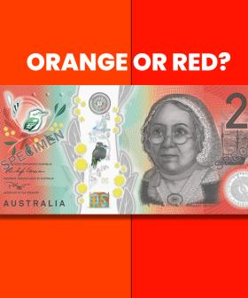 Is The Aussie $20 Note Orange Or Red?