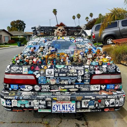 What's The Worst Thing You've Seen People Decorate Their Cars With?