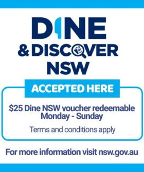 NSW Dine & Discover Vouchers Have Been Extended AGAIN But This Time A Whole Lot Longer!