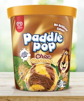 Paddle Pop Have Released Choc Banana Swirled Tubs Of Ice Cream & I SCREAM!