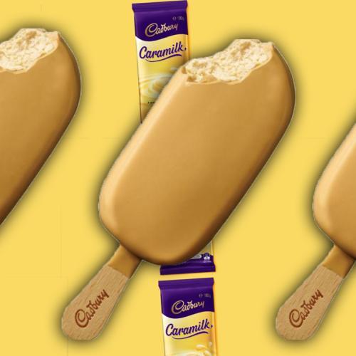 It's Official - You Can Now Buy Cadbury Caramilk Ice Cream Sticks!