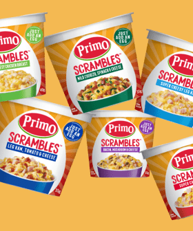 'Just Add An Egg' Primo's Launched Instant Scrambled Egg Cups!