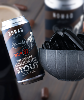 Darrell Lea Is Releasing A New LIQUORICE BEER Just In Time For Fathers Day!