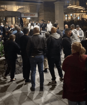 People Queued Up Outside Pubs, Clubs & Kmart Last Night In Anticipation Of Freedom Day